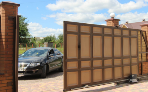 Как выбрать ворота для частного дома?