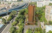 В Лефортово начали строить дом по программе реновации
